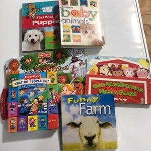 Bundle 6 books . Baby/toddler